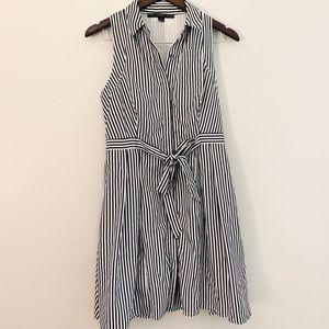 Hyfve striped button down dress